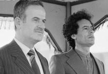 صورة نص تصريح العقيد معمر القذافي في مطار دمشق في 16 تشرين الثاني 1970