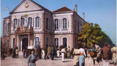 صورة دمشق- مقهى البلدية