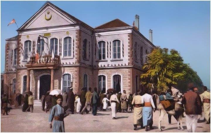 دمشق- احتفالات دمشق / دار البلدية