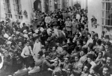 صورة اجتماع زعماء الكتلة الوطنية في دار توفيق قباني عام 1928