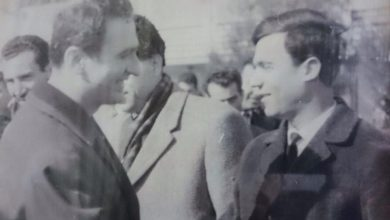 صورة صلاح جديد في المطار عام 1966
