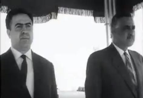 زيارة الرئيس نور الدين الأتاسي إلى القاهرة عام 1968