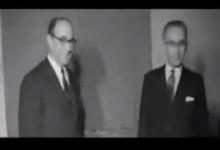 صورة فيديو نادر للرئيس ناظم القدسي عام 1962