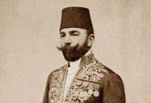 صورة حول إعدام نخبة من المفكرين العرب عام 1916