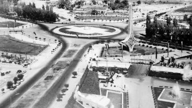 ساحة الأمويين بدمشق 1962