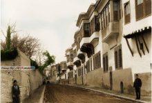 صورة حي الصالحية و دمشق في بداية القرن العشرين