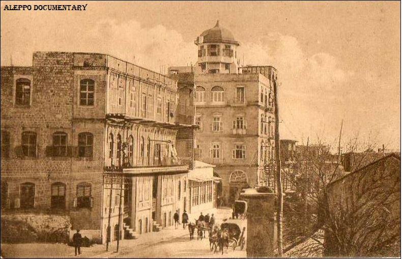 عمرو الملاّح : حلب- عمارة نصري البلدي 1920