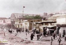 صورة دمشق: جادة الدرويشية إبان تنظيم المنطقة عام 1918