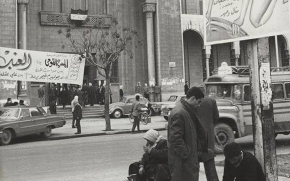 دمشق 1967 – شارع النصر ومبنى المشيرية العسكرية.. مبنى القصر العدلي (12)