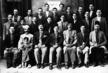 صورة أول جمعية خيرية لحي الصالحية في دمشق 1933