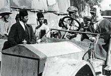 صورة لورانسيدخل مدينة دمشق/ تشرين الأول 1918