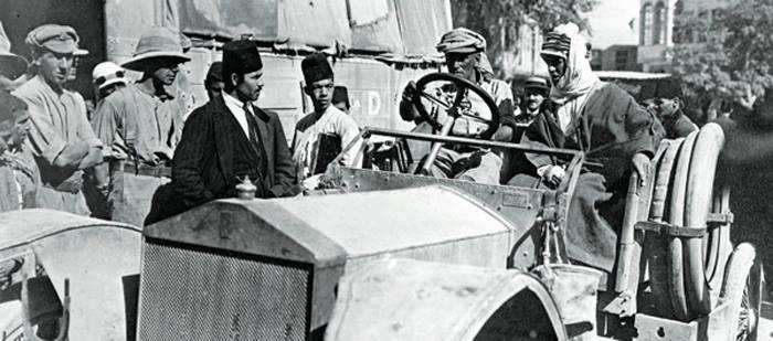 لورانسيدخل مدينة دمشق/ تشرين الأول 1918