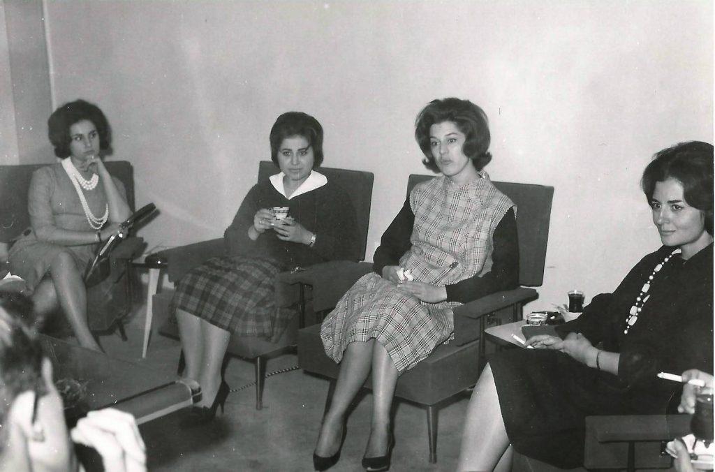 مذيعات في التلفزيون السوري 1962