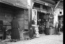 صورة دمشق- سوق القباقبية – 1930