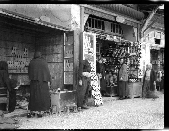 دمشق- سوق القباقبية - 1930