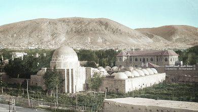 صورة المدرسة السليمانية في دمشق عام 1924
