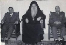 صورة استقبال بطريرك أنطاكية وسائر المشرق لـ الروم الأرثوذوكس ثيودوسيوس أبو رجيلي في حماة
