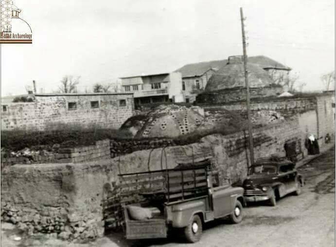 سلمية : الحمام الاثري في الستينيات