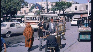 صورة دمشق: شارع النصر و سوق الخجا القديم المتاخم لقلعة دمشق