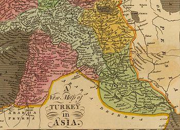 هاني سكرية: التقسيمات الإدارية لولاية سورية 1908 م