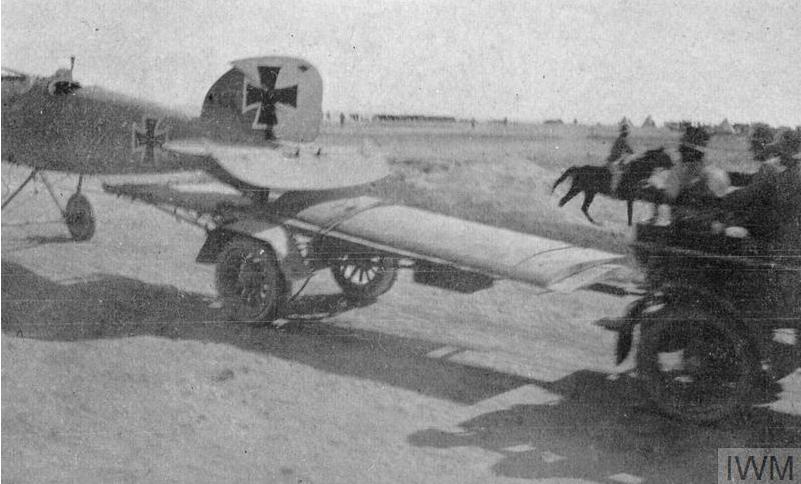 طائرة ألمانية أُسقطت في الصحراء السورية