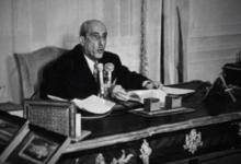 صورة كلمة شكري القوتلي عام 1956