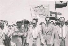 صورة محافظ حمص مصطفى رام حمداني في زيتا القصير عام 1961