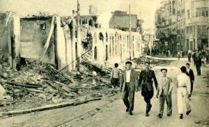 صورة العدوان الفرنسي على دمشق 29 أيار 1945