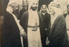 صورة الصداقة بين أل البكري وعائلة الشريف حسين