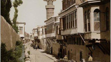 نهر القنوات في دمشق