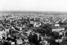 صورة صورة جوية لدمشق عام ١٩٣٥، باتجاه جنوبي شرقي