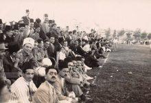 صورة مباراة كرة قدم في دمشق 1942