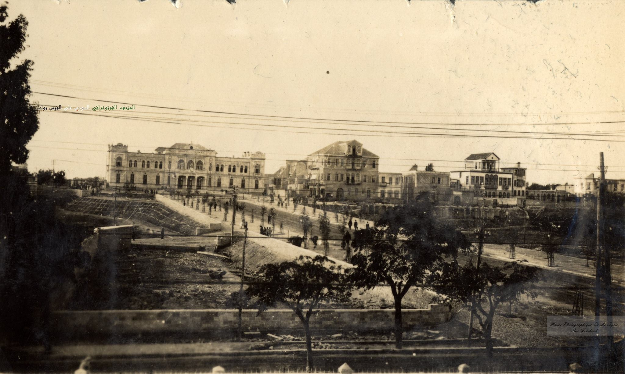 دمشق- محطة الحجاز~1910s