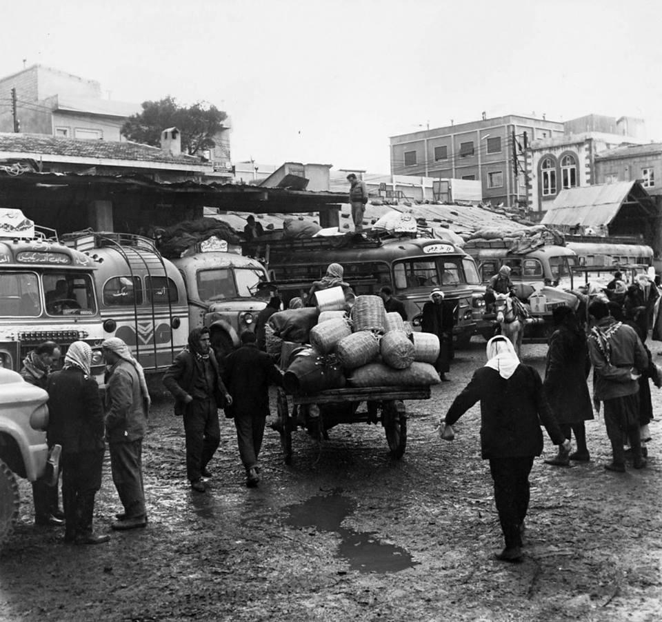 حمص ١٩٦٥ : صورة خان وكراج باليقا