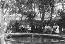 صورة حفل افطار للقنصلية الألمانية بدمشق 1900