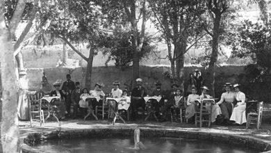حفل افطار للقنصلية الألمانية بدمشق 1900