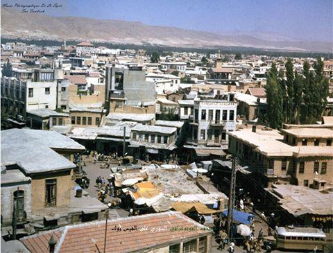دمشق: سوق على باشا (ساحة سوق الخيل)