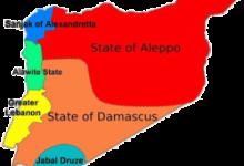صورة التنظيم الإداري في سورية بعهد الانتداب الفرنسي