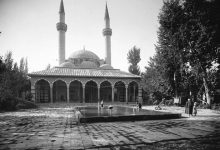 صورة دمشق: التكية السليمانية  عام 1914