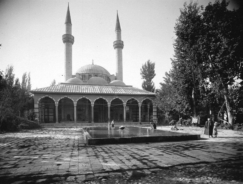 دمشق: التكية السليمانية  عام 1914