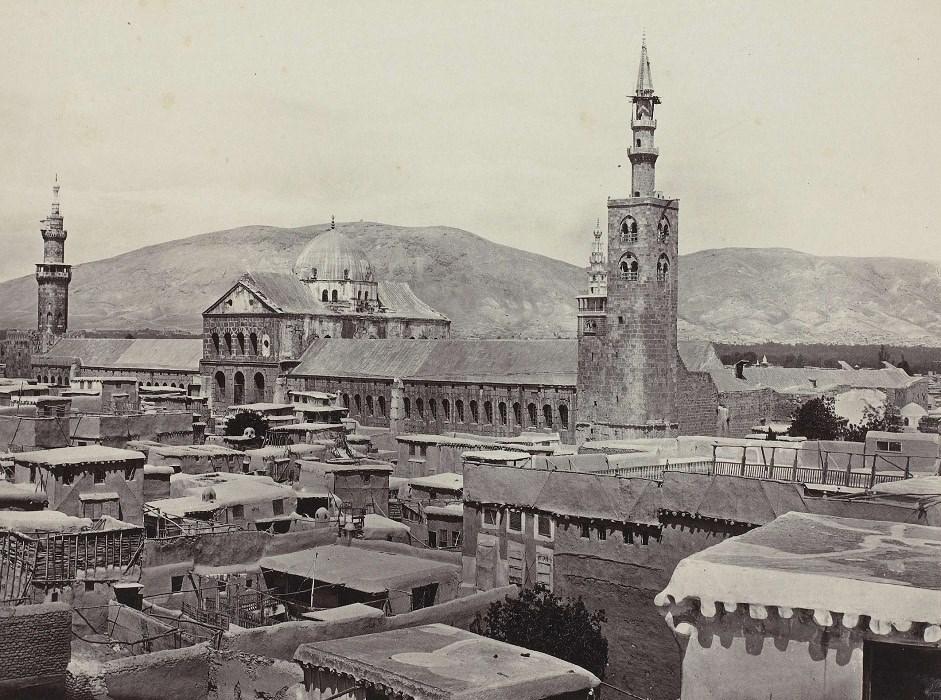 دمشق: المسجد الأموي بدمشق حوالي عام 1857