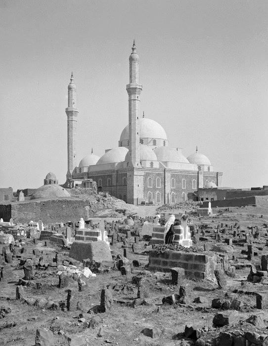 مسجد خالد بن الوليد بحمص مطلع القرن العشرين