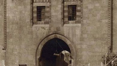 صورة حلب: خان الوزير عام 1940