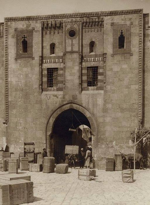 حلب: خان الوزير عام 1940