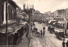 صورة دمشق: شارع الدرويشية عشرينات القرن العشرين