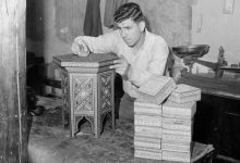 صورة دمشق 1950: صناعة الخشب المطعم بالصدف