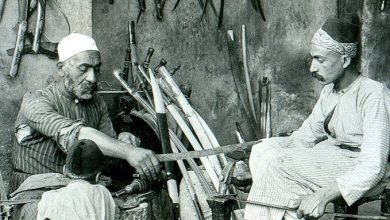 صناعة السيوف – دمشق 1900