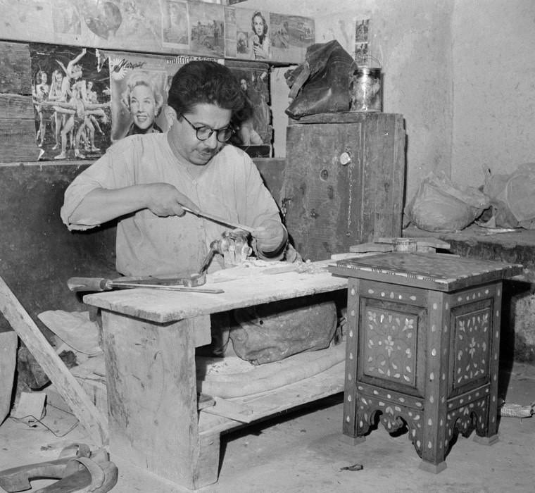 دمشق: صناعة الموزاييك عام 1950