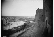 صورة حلب: صورة للمدينة من القلعة عام 1936