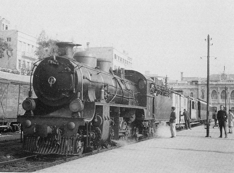 دمشق: محطة الحجاز عام 1965